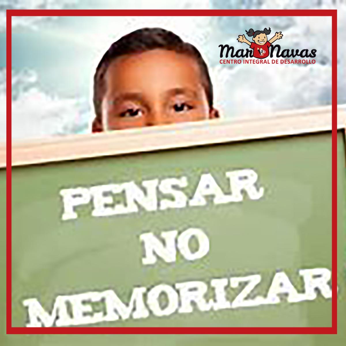 Aprende y no memorices