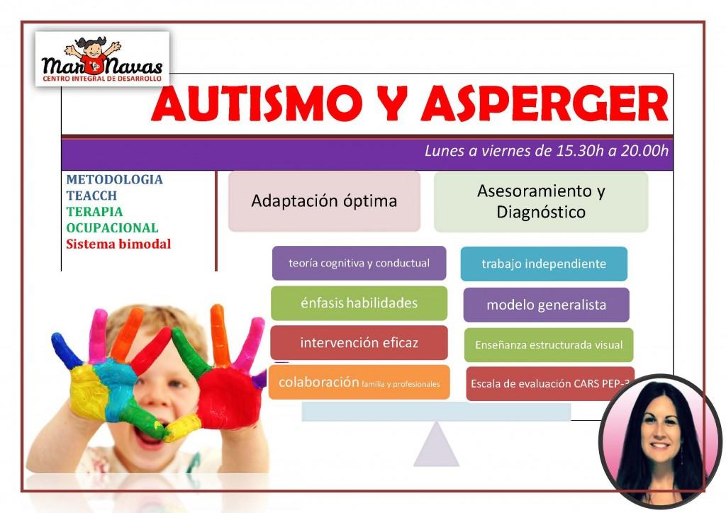 autismo y asperger intervencion en niños