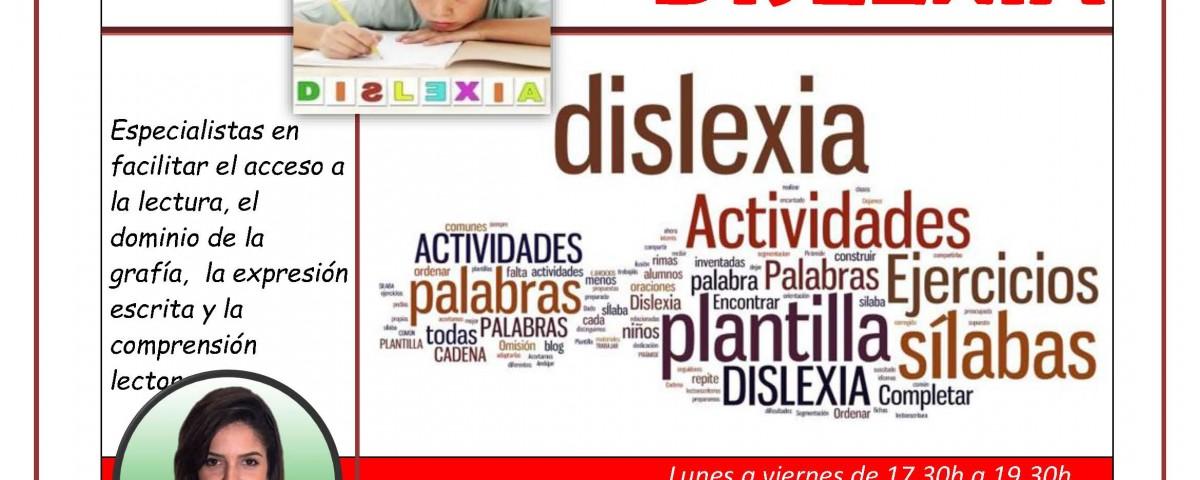 La dislexia es una dificultad de aprendizaje que bien entendida y trabajada permite el desarrollo adecuado del niñ@