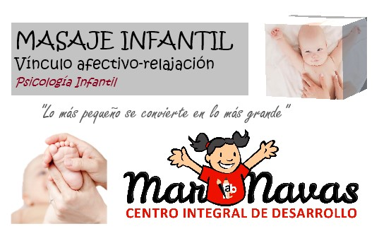 masaje infantil