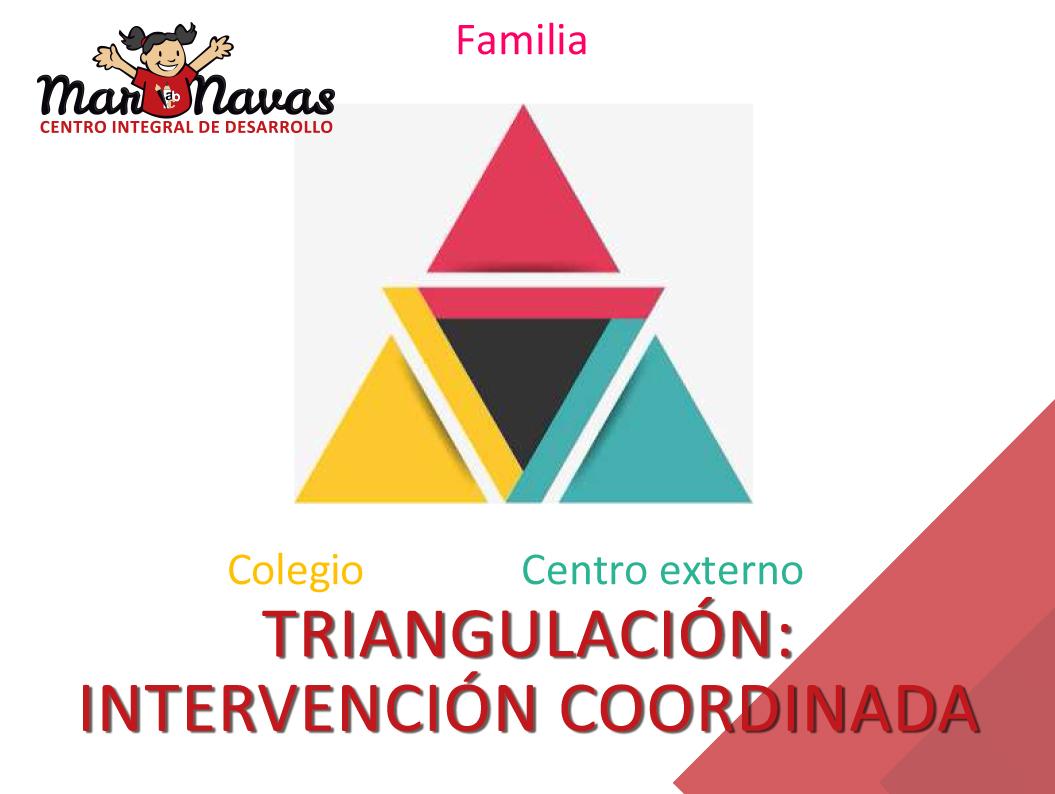 Triangulación: intervencion coordinada