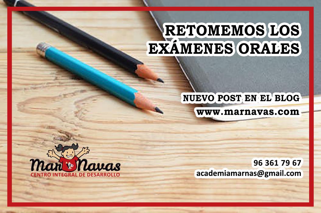 exámenes orales