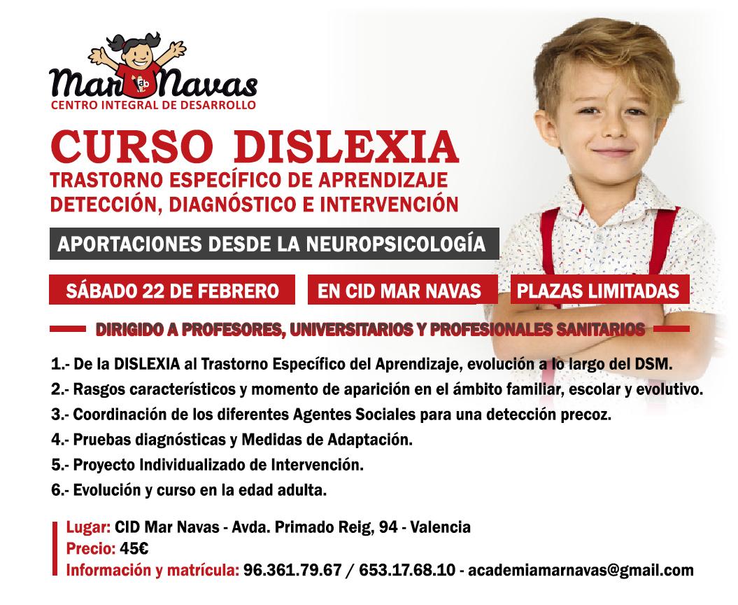 Curso Dislexia -22 de Febrero
