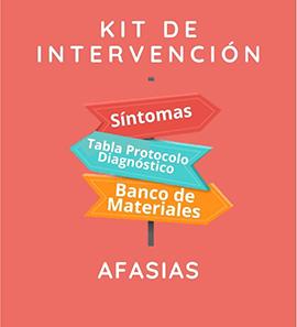 Kit de Intervención - Afasia