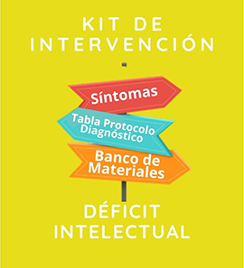 Kit de intervención - Déficit Intelectual