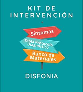 Kit de Intervención - Disfonía