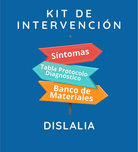 Kit de Intervención - Dislalia