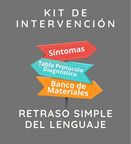 Kit de Intervención Retraso Simple del Lenguaje